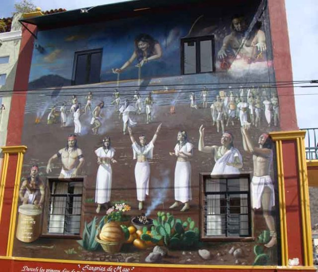 c history of area mural