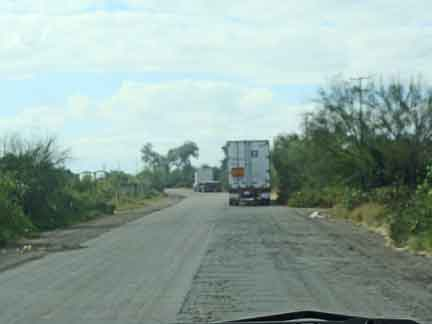 Continuing Down Mx15d To Huatabampito In Our Rv